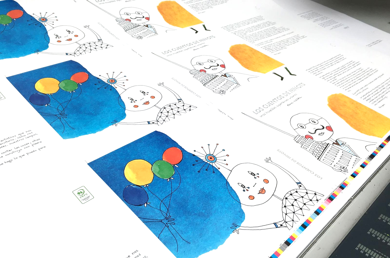 """LA IDEA DE """"LOS NINOTS"""" · Pensant un llibre, dissenyant un projecte"""